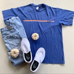 Blue & Orange GAP Vintage Tee